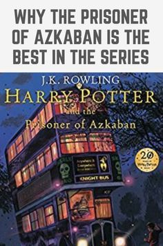 A hotly debated topic amongst Potterheads is which is the best Harry Potter book? Here are all my reasons why the Prisoner of Azkaban is the best in the Harry Potter series! You'll love this post if you're a Harry Potter fan. Rowling Harry Potter, Harry Potter Quotes, Harry Potter Love, Book Club Books, Book Lists, The Book, Harry Potter Filming Locations, Literary Travel, Prisoner Of Azkaban