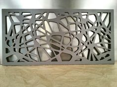Our MDF duco finished Drift laser cut screen ready for its new home.