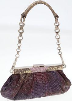 5f13ad0616de Prada Burgundy Python Evening Bag. ... Luxury Accessories Bags | Lot #76032  | Heritage Auctions