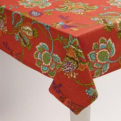 One of my favorite discoveries at WorldMarket.com: Tatiana Tablecloth