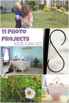 Photo Projects Kids Can Do: Cloning, Time Lapse, Stop Motion, Letter/Word Hunt, Photo Transformations, etc.