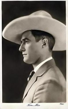 """""""Cowboy icon and Hollywood movie star Tom Mix had an interesting philosophy of life. He just made it up as he went along! If you spend any time investigating the life of Tom Mix, you will find yourself sifting through a heap of fabricated stories. The remarkable thing is that the person responsible for most of those fabrications was none other than Tom Mix himself!"""" [quote]"""