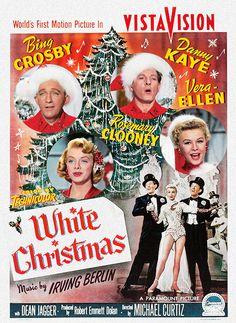 White Christmas (1954) with Bing Crosby, Danny Kaye, Vera-Ellen, Rosemary Clooney