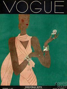 Vogue, December 1931  Illustration by Eduardo Garcia Benito