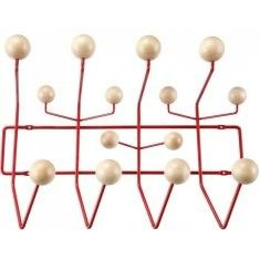 Charles Eames Charles Eames style Hang it all Spruce and Red