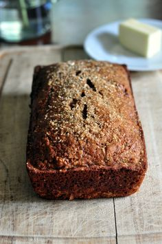 Love zucchini bread so Ill give a healthier one a try. healthier healthy zucchini bread recipe Check out the website for more. Healthy Desserts, Just Desserts, Delicious Desserts, Yummy Food, Tasty, Healthy Recipes, Breakfast Recipes, Dessert Recipes, Breakfast Muffins