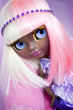 Nicky Minaj Blythe custom doll by erregiro®