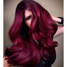 48 Cool Hair Color Ideas to Try in 2018 – Frisuren Bold Hair Color, Beautiful Hair Color, Deep Red Hair Color, Magenta Hair Colors, Beautiful Models, Guy Tang Hair, Guy Hair, Cabelo Ombre Hair, Dark Hair