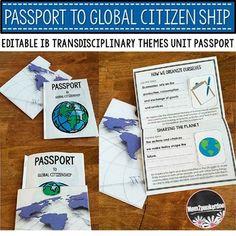 IB Transdisciplinary Themes Passport to Global Citizenship