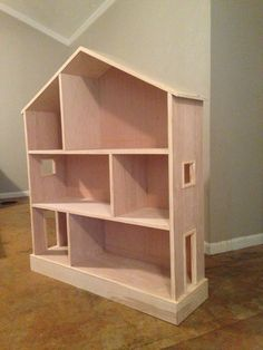 Hand crafted doll house