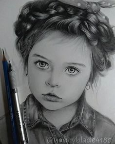 Portrait Mastery Pencil Portrait Mastery - Wonderful pencil drawing works by Honey Blade - Discover The Secrets Of Drawing Realistic Pencil Portraits Discover The Secrets Of Drawing Realistic Pencil Portraits