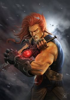 """Thundercats - Lion"" by Ed Anderson (andersonedsilva) Comic Book Characters, Comic Character, Comic Books Art, Comic Art, Old School Cartoons, 90s Cartoons, Comic Anime, Anime Comics, Thundercats Wallpaper"