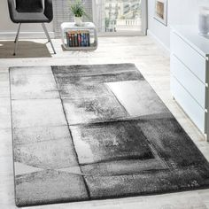 Salter Grey Rug Borough Wharf Rug size: Rectangular 240 x Living Room Carpet, Living Room Grey, Living Room Modern, Rugs In Living Room, Living Room Designs, Dark Grey Rug, Black Rug, Brown Rug, Grey Rugs