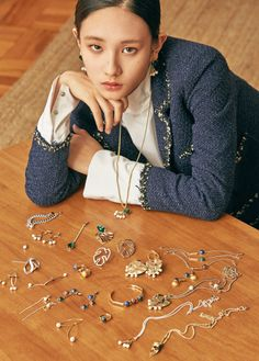 Gil Eun Jung by Shin Say Byuk for The Gobo Fall 2016 collection