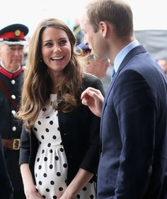 Kate laughs as William speaks of his love for the Batman trilogy.
