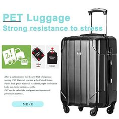 Amazon.com | Merax 3 Piece P.E.T Luggage Set Eco-friendly Light Weight Spinner Suitcase | Luggage Sets Best Luggage, Luggage Sets, Best Suitcases, Spinner Suitcase, Business Travel, 3 Piece, Eco Friendly, Amazon, Pets
