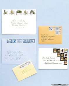 Stamp Collections for Your Invitations