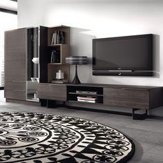 Meuble TV design mural Medley ATYLIA Plus