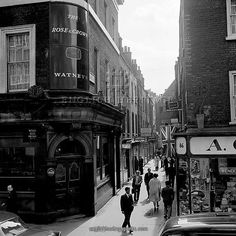 Late '60's photo of St Anne's Court