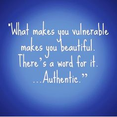 There is nothing more irresistible than authenticity. When you allow yourself to be seen fully you inspire others to do the same. What you project is also what you attract. Let down your guard and front. No one is buying it!