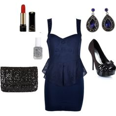 obsessed with this dress Navy Dress, Midnight Blue, Meme, Shoe Bag, My Style, Shoes, Collection, Shopping, Dresses