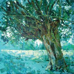 Give your trees more body & texture with Hashim Akib and System 3 Acrylics | SAA PAINT magazine