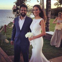 """""""Natalia Fusco @natalia_fusco e Bruno Dias @brunodiasnet casando agora a noite em Trancoso !!!!! Eles comamdam todas as fiestas no reveilon de Trancoso!!!…"""""""