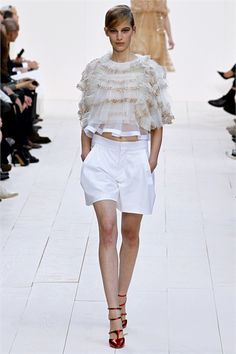 #moda Photos and comments to know the collection, the outfits and accessories Chloé Spring Summer 2013 Collections presented for