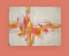 Art Abstract Painting Acrylics on Canvas Titled by OraBirenbaumArt, $425.00