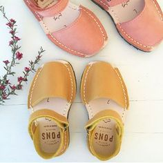 #pons #avarcas #leathersandals #toddlersandals #handcrafted in #menorca
