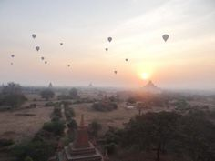 Is Bagan as Impressive as Angkor Wat?: Sunrise over the temples in Bagan, Myanmar