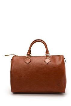 Vintage Louis Vuitton Leather Speedy 30 Handbag
