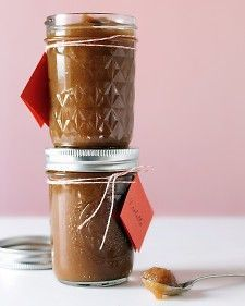 Slow-Cooker Pear and Apple Butter - Place this spread in decorative jars for gifts, but save some for yourself -- it's great on toast or pancakes. Reviewers said it turned out to thin and suggested draining the pears before putting them in the crock pot or cooking it with lid partially off for the last part of cooking or perhaps adding corn starch to thicken.