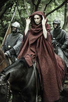 Carice van Houten as Melisandre in Game of Thrones - The Climb - Season Three: Episode 6