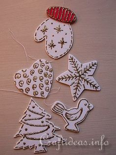 Fun Foam Christmas Ornaments Set  http://www.craftideas.info/html/fun_foam_ornament_c.html#