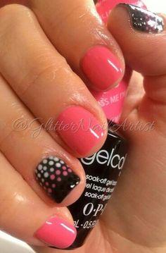 GlitterNailArtist bright pink nails, polka dots, fun summer nails, nail art ideas accent nail Previous Post Next Post Fancy Nails, Trendy Nails, Diy Nails, Dot Nail Art, Polka Dot Nails, Polka Dots, Bright Pink Nails, Super Nails, Nagel Gel