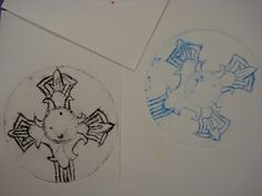Amy's Artsy Adventures: CD Printmaking