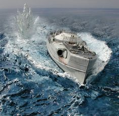 Diorama by Joseph Neumeyer Scale Model Ships, Scale Models, Military Diorama, Military Art, Diorama Militar, Model Warships, E Boat, Water Effect, Model Hobbies