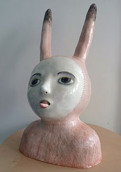 nathalie choux: novembre 2011  turn yourself into an animal... clay portrait