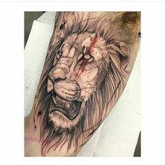 Tattoo Lion !
