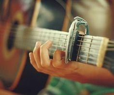 Guitar hands.