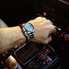 Fan Pic Of The Day ! | While behind the wheel of his Audi @bambamfitness posted a cool photo of his Rolex GMT Master II nicely paired with our Black Nappa Leather / Silver Twin Skull Bracelet. Nice combo ! | Available at Northskull.com | For a chance to get featured post a cool photo of your Northskull jewelry with the tag #Northskullfanpic on Instagram.