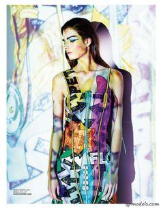 Gaby Loader for Tatler UK (June 2014) - http://qpmodels.com/european-models/gaby-loader/7629-gaby-loader-for-tatler-uk-june-2014.html
