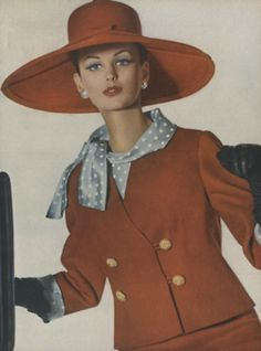 Red Suit 1962 Vogue