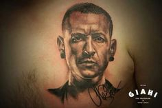 Epic Chester Bennington tattoo