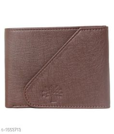 Wallets Stylish Leather Wallet Material: Artificial Leather Size : (L X H) - 3.9 in X 5.0 in Compartments: 1 Description: It Has 1 Piece Of Men's Wallet Pattern: Solid Sizes Available: Free Size *Proof of Safe Delivery! Click to know on Safety Standards of Delivery Partners- https://ltl.sh/y_nZrAV3  Catalog Rating: ★4 (8894)  Catalog Name: Free Gift Elegant Men's Stylish Leather Wallets Vol 1 CatalogID_201999 C65-SC1221 Code: 271-1553713-