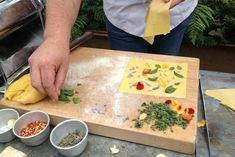 floral pasta