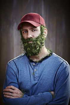 Dow AgroSciences Weed Beards by Roger Stagner, via Behance