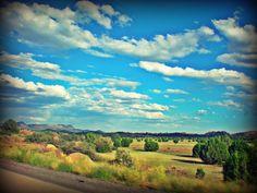 Interstate 40, driving to Flagstaff, Arizona