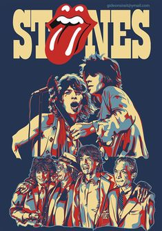 rolling stones on BehanceYou can find The rolling stones and more on our website.rolling stones on Behance Rolling Stones Logo, Rolling Stones Concert, Mick Jagger Rolling Stones, Keith Richards, Rock Band Posters, Rock Band Logos, Digital Foto, Alternative Rock, Classic Rock Bands